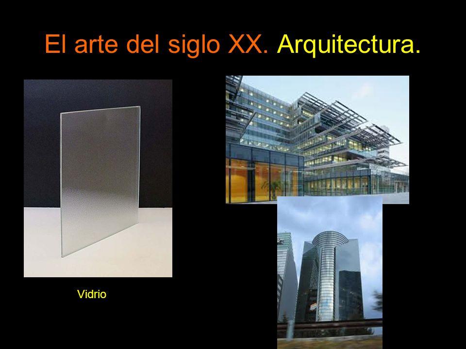 El arte del siglo XX. Arquitectura. Vidrio