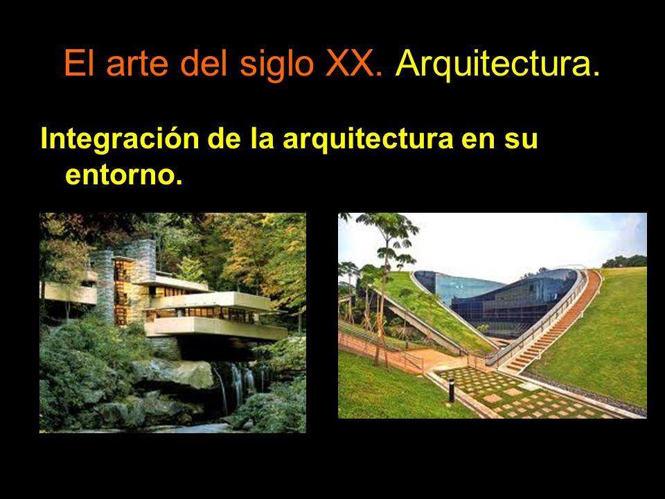 Integración de la arquitectura en su entorno.