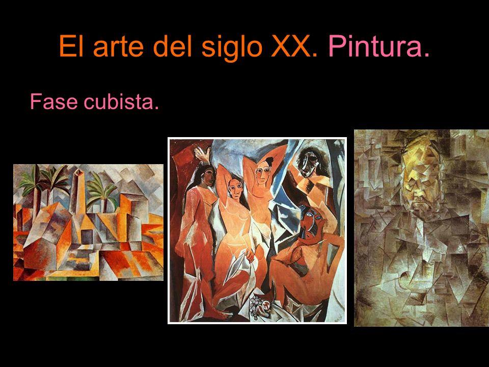 El arte del siglo XX. Pintura. Fase cubista.