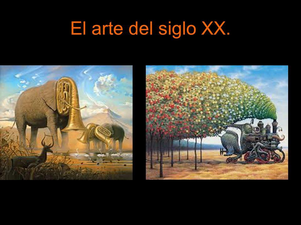 El arte del siglo XX. Escultura. En casi todos los casos buscan alejarse de la realidad visible.