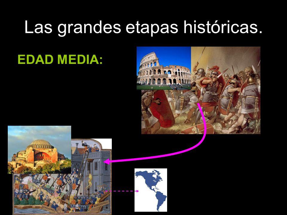Las grandes etapas históricas. EDAD MEDIA: