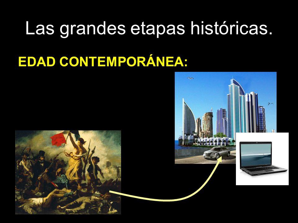 Las grandes etapas históricas. EDAD CONTEMPORÁNEA: