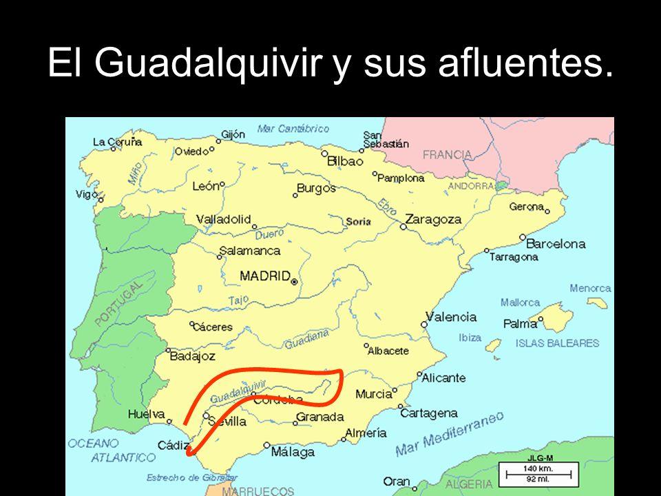El Guadalquivir nace en las sierras del Pozo y Cazorla.