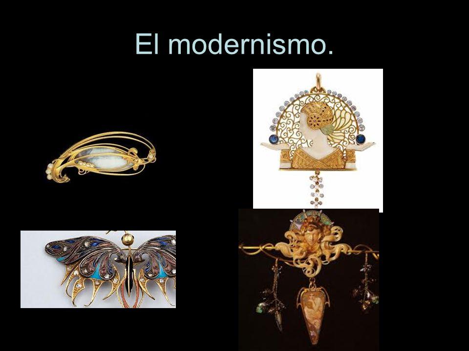 El modernismo.
