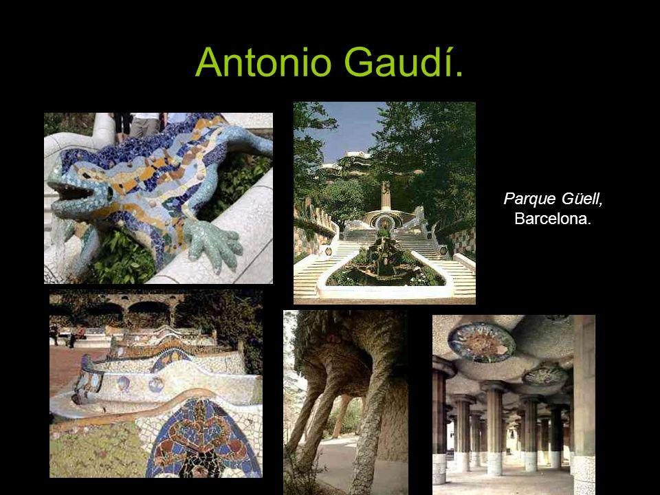 Antonio Gaudí. Parque Güell, Barcelona.