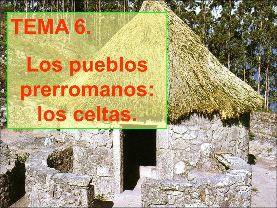 TEMA 6. Los pueblos prerromanos: los celtas.