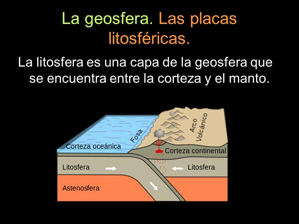 Agentes geológicos internos.