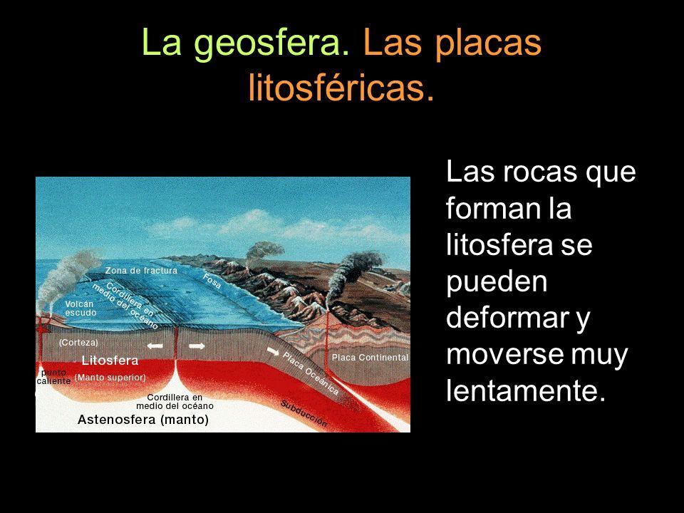 Agentes geológicos internos.Grandes cordilleras.