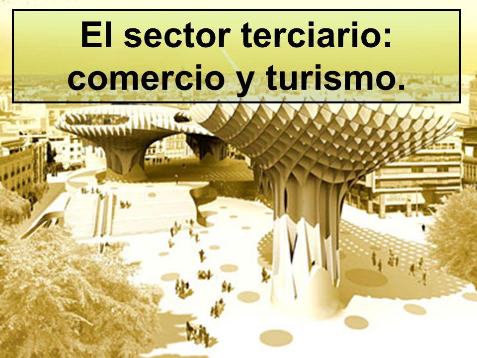 El sector terciario: comercio y turismo.