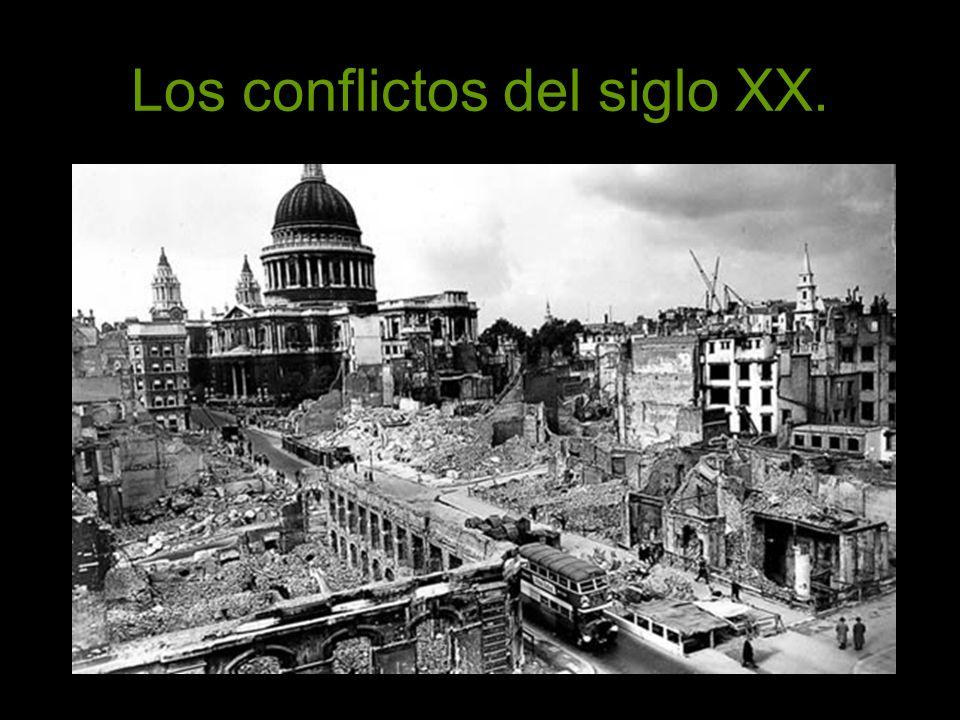 Los conflictos actuales.