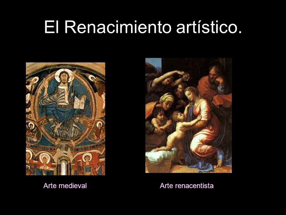 El Renacimiento artístico. Arte medievalArte renacentista
