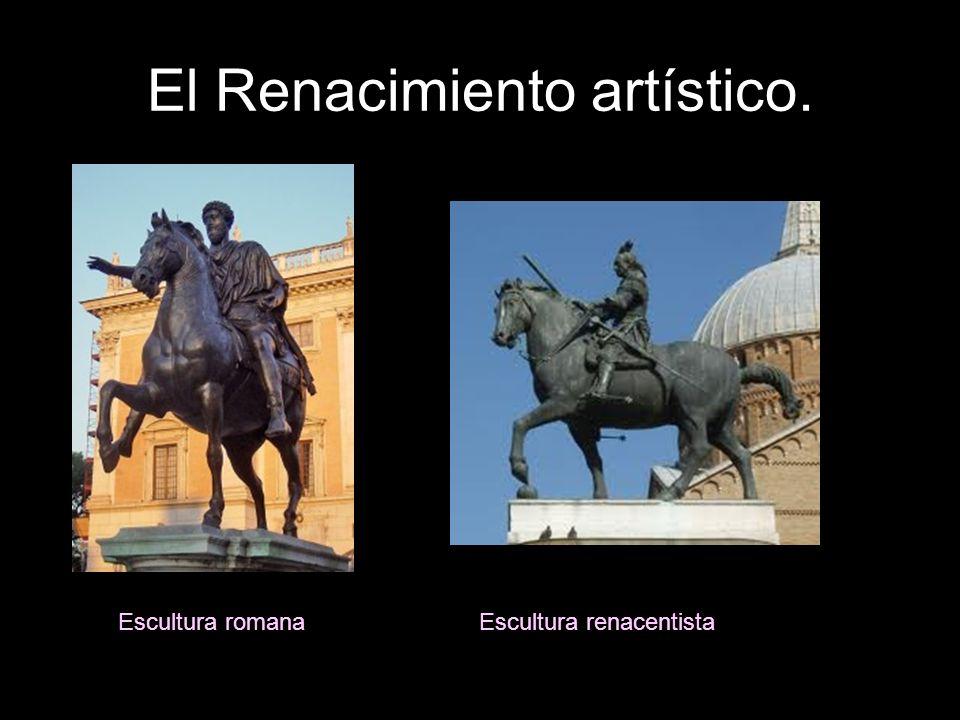 El Renacimiento artístico. Escultura romanaEscultura renacentista