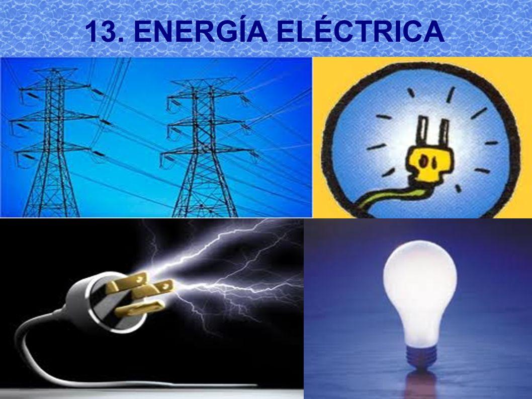 13. ENERGÍA ELÉCTRICA