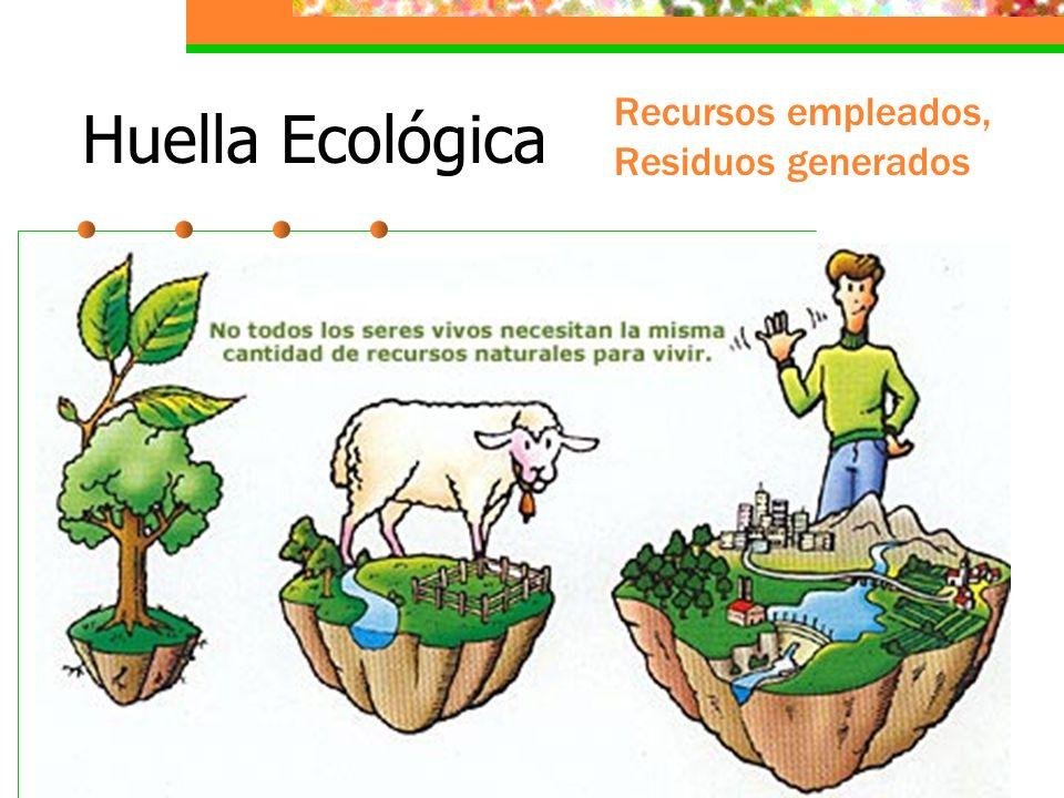 Consumo Nuestro consumo tiene una estrecha relación con el uso de los recursos naturales y los niveles de contaminación. El consumo nacional y global