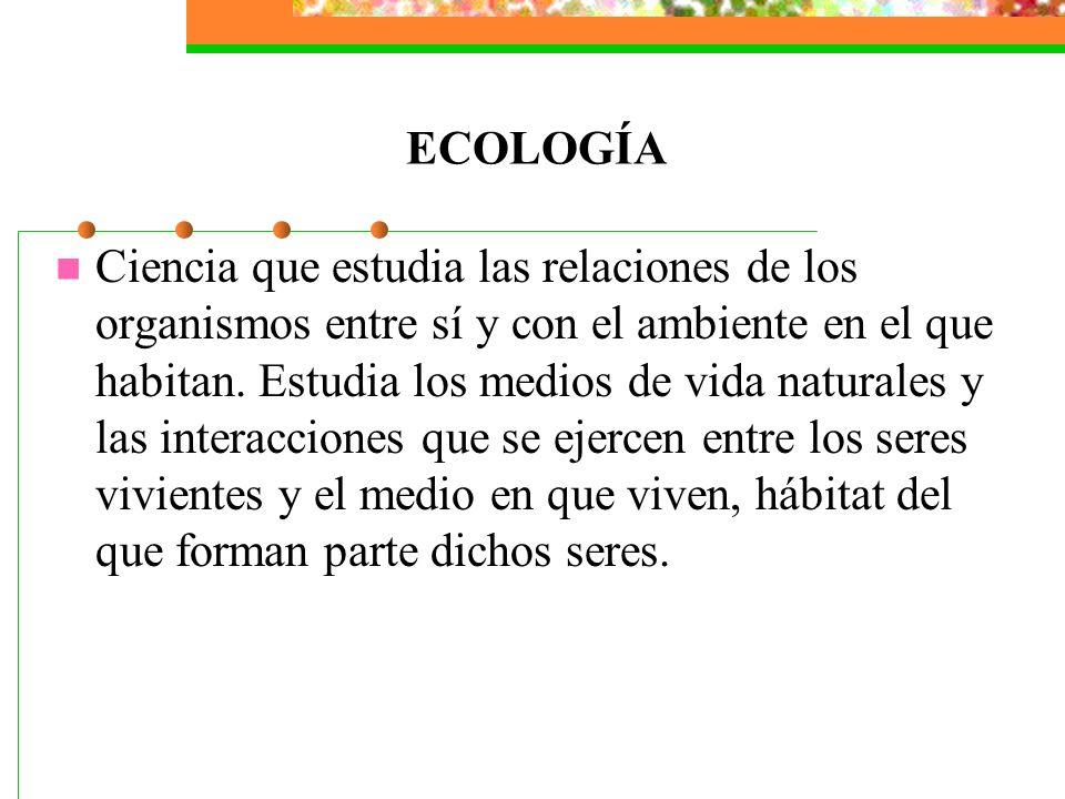 El ambiente son todos aquellos factores que nos rodean (vivientes y no vivientes) que afectan directamente a los organismos (como nosotros), el ambien
