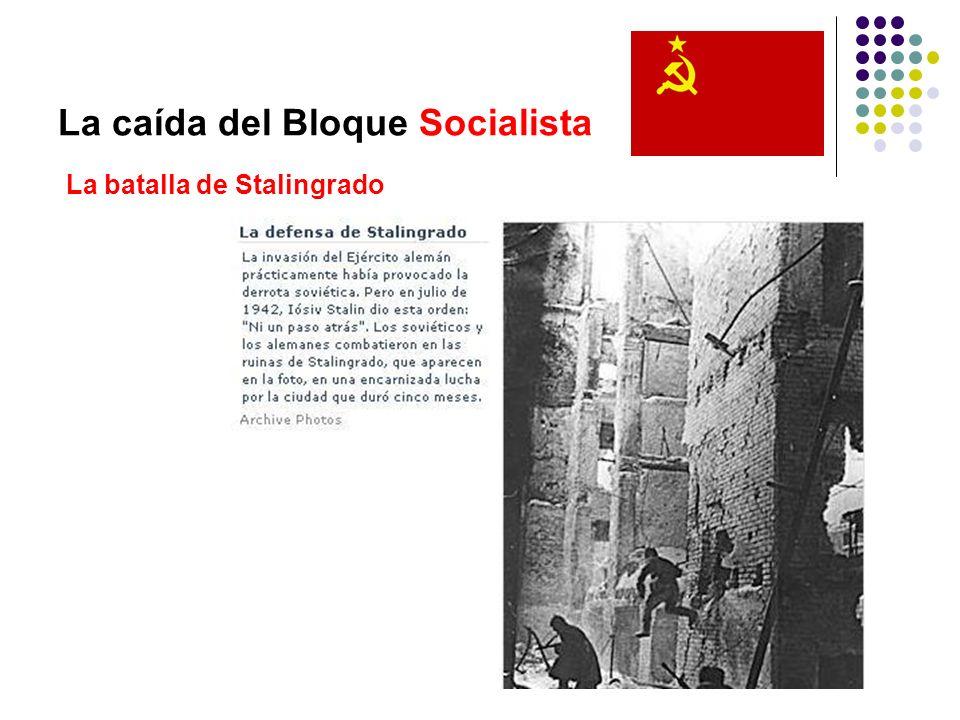 La caída del Bloque Socialista La batalla de Stalingrado