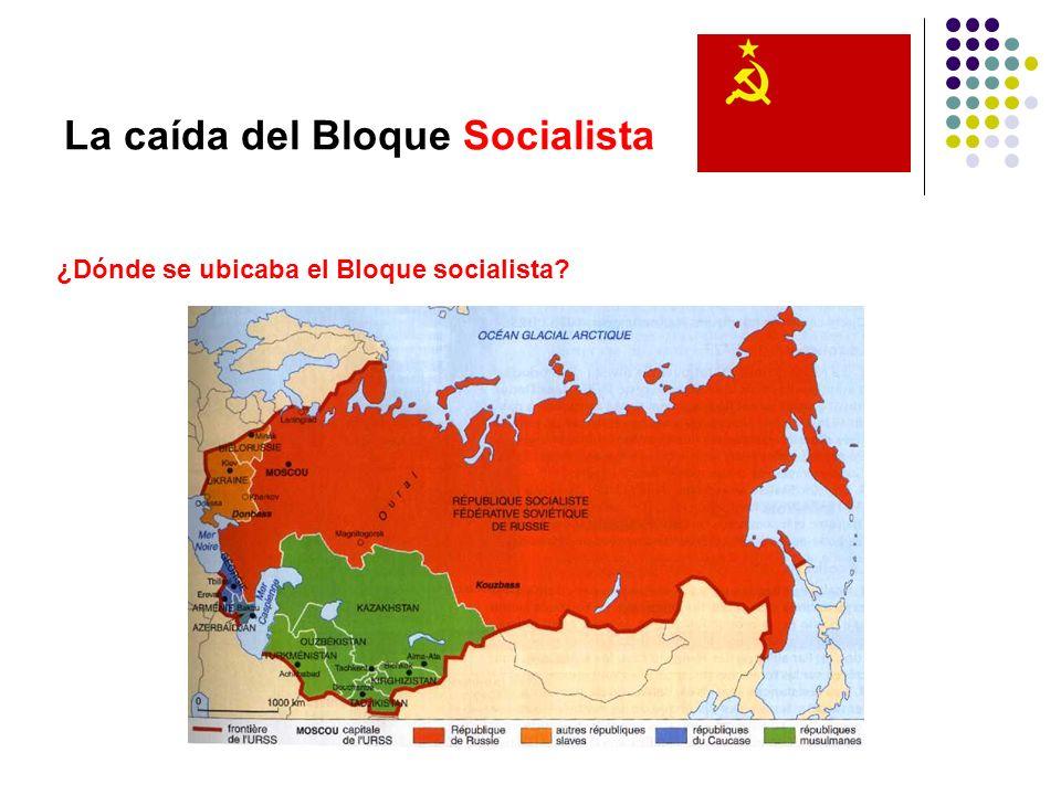 La caída del Bloque Socialista Conclusiones Hoy en día convergen países socialistas dentro de este mundo globalizado, cada uno con sus objetivos particulares.