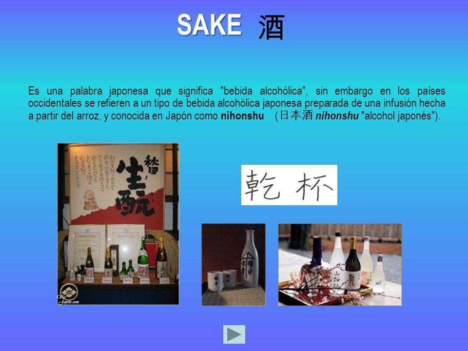 Es una palabra japonesa que significa