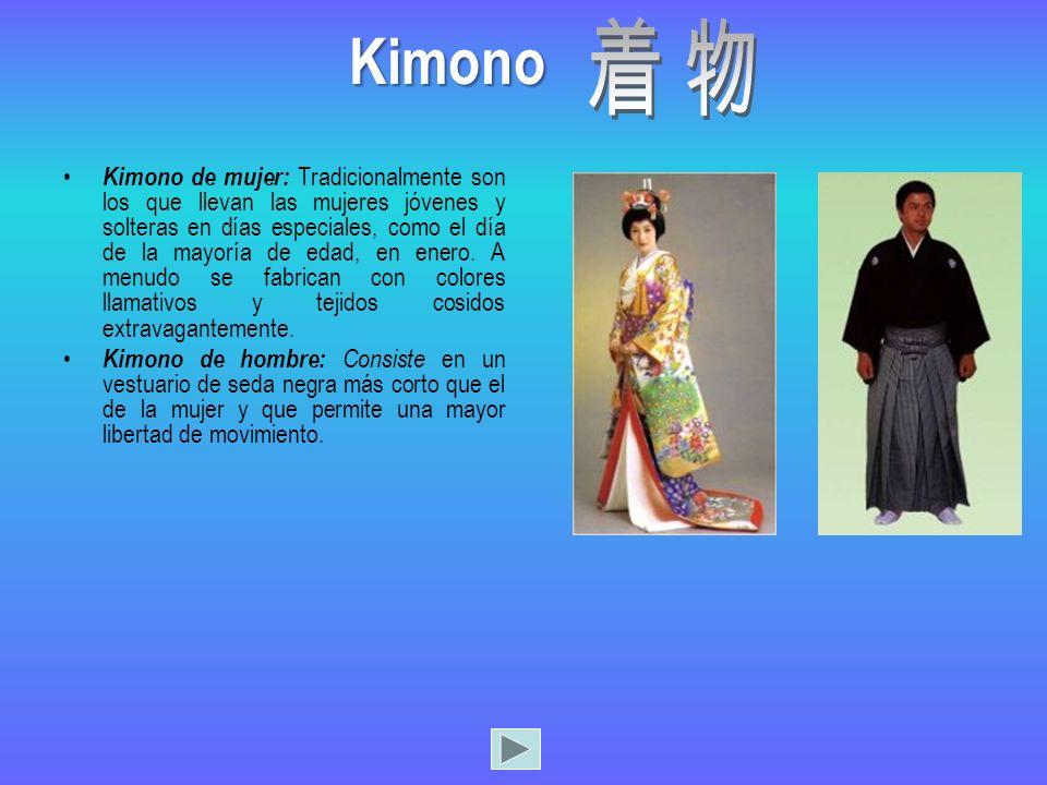 Los yukata son quimonos de algodón sin forro que suelen llevar en los festivales de verano o en los balnearios.