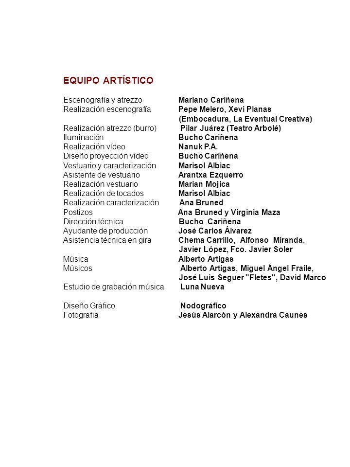 GILIRACHO EDUARDO GONZÁLEZ Teatro T.E.U.de Medicina de Zaragoza, dirección de J.