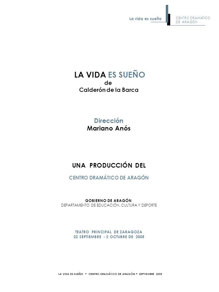 La vida es sueño (1636), puede presentarse como una de las más representativas obras de la literatura española del Siglo de Oro.