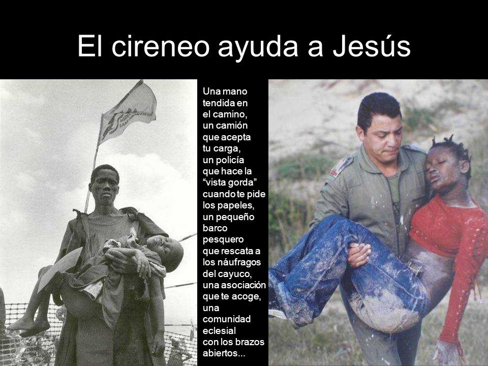 Jesús se encuentra con su Madre Cuántas madres dolorosas sueñan con encontrarse con sus hijos inmigrantes... Cuánta angustia esperando una señal de vi