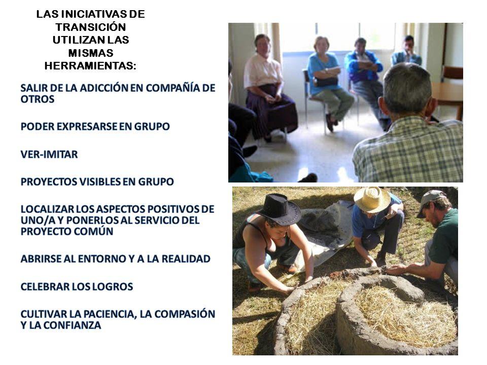 SALIR DE LAS ADICCIONES EN COMPAÑÍA DE OTROS/AS Las iniciativas de Transición sólo tienen sentido cuando su motor es la comunidad de personas que conviven