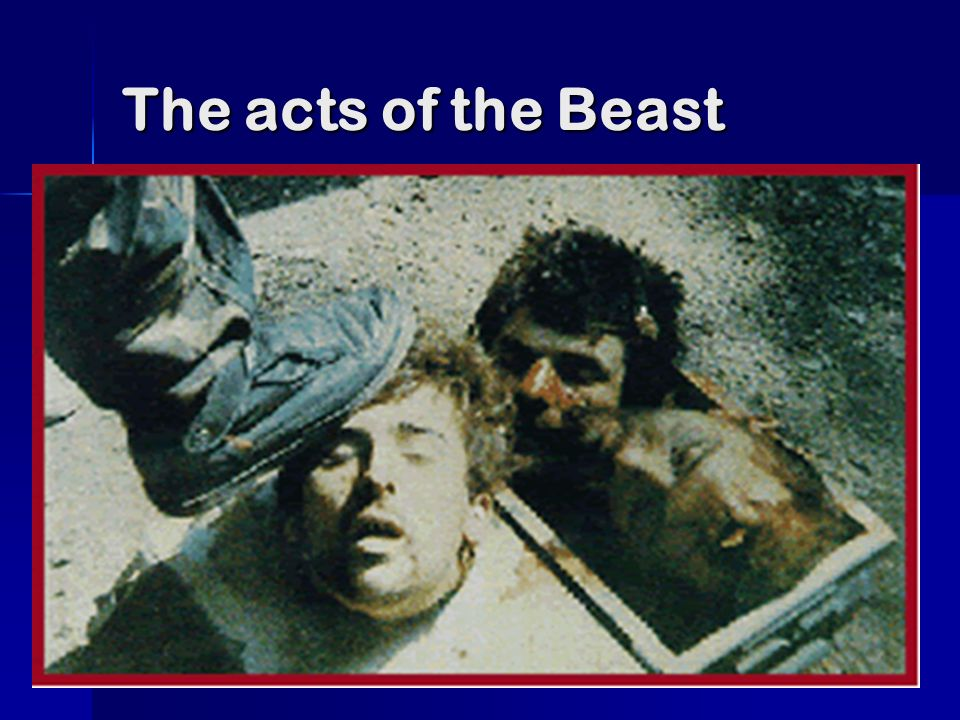 The acts of the Beast