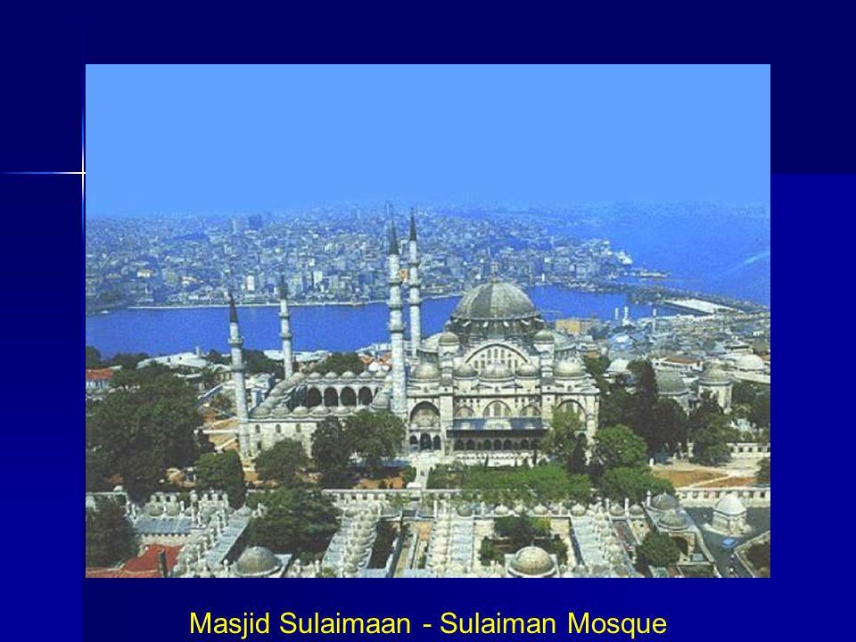 Masjid Sulaimaan - Sulaiman Mosque