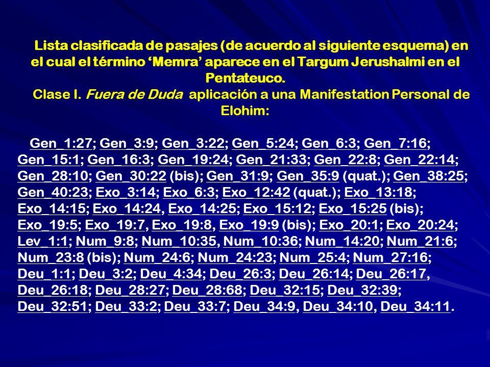 Y si no hubiera alguien merecedor de llamarse hijo de Elohim, dejalos adornase de acuerdo a su Palabra primogenita, (logos) el anciano de los Angeles, como el gran arcangel de muchos NOMBRES; porque el es llamado, La Autoridad, y el nombre de ELOHIM, y la Palabra (logos) y un hombre de acuerdo a la imagen de Elohim y EL es quien ve a Israel.