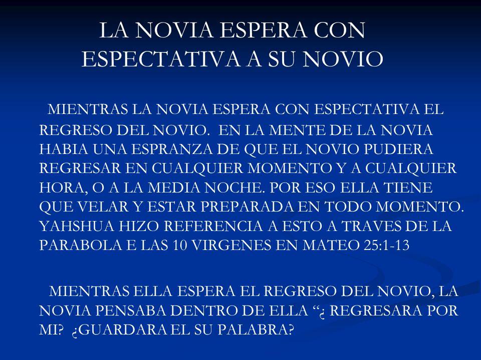 LA NOVIA ESPERA CON ESPECTATIVA A SU NOVIO MIENTRAS LA NOVIA ESPERA CON ESPECTATIVA EL REGRESO DEL NOVIO. EN LA MENTE DE LA NOVIA HABIA UNA ESPRANZA D