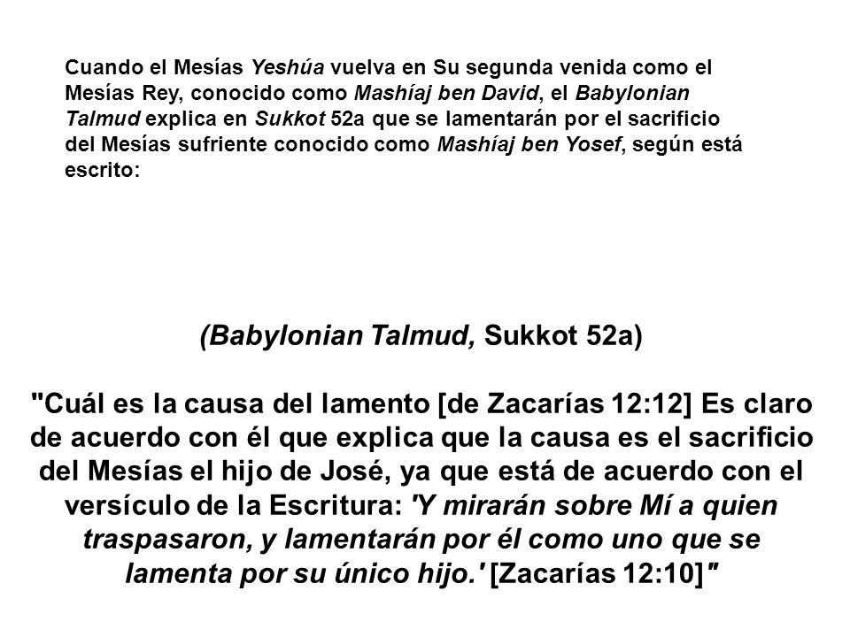 (Babylonian Talmud, Sukkot 52a)
