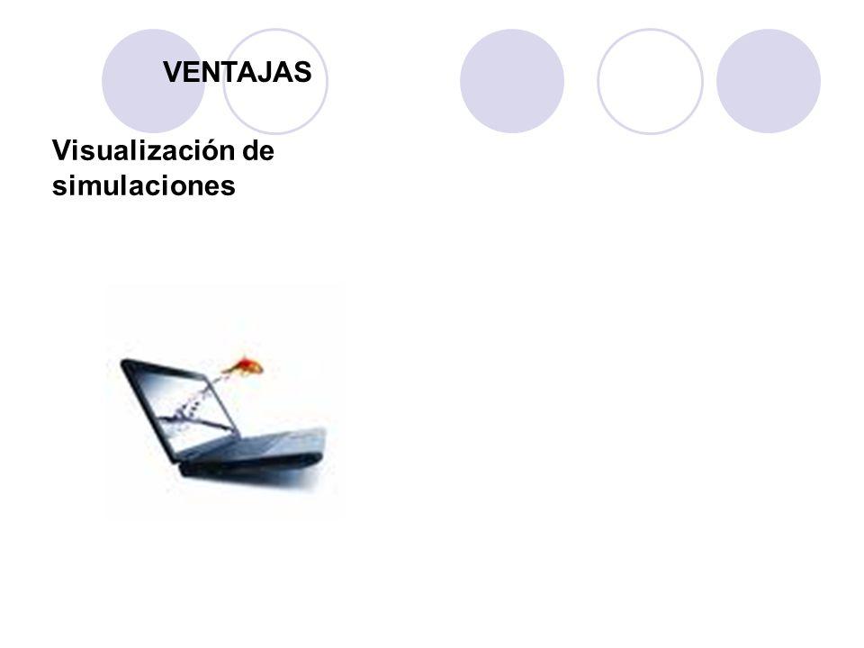 Visualización de simulaciones VENTAJAS