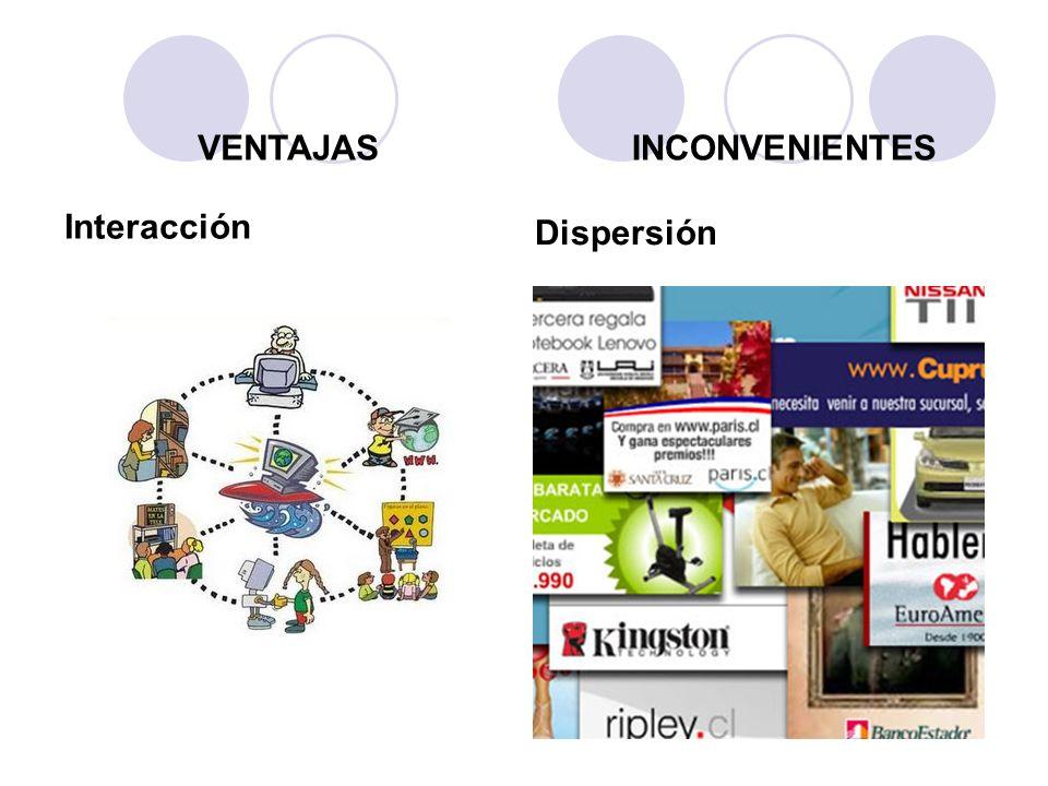 Interacción Dispersión VENTAJASINCONVENIENTES