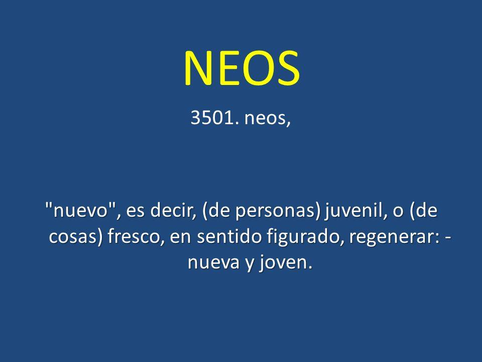 NEOS 3501. neos,