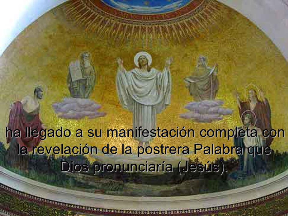 la ley de Dios (Moisés), recordada continuamente por los profetas (Elías), la ley de Dios (Moisés), recordada continuamente por los profetas (Elías),