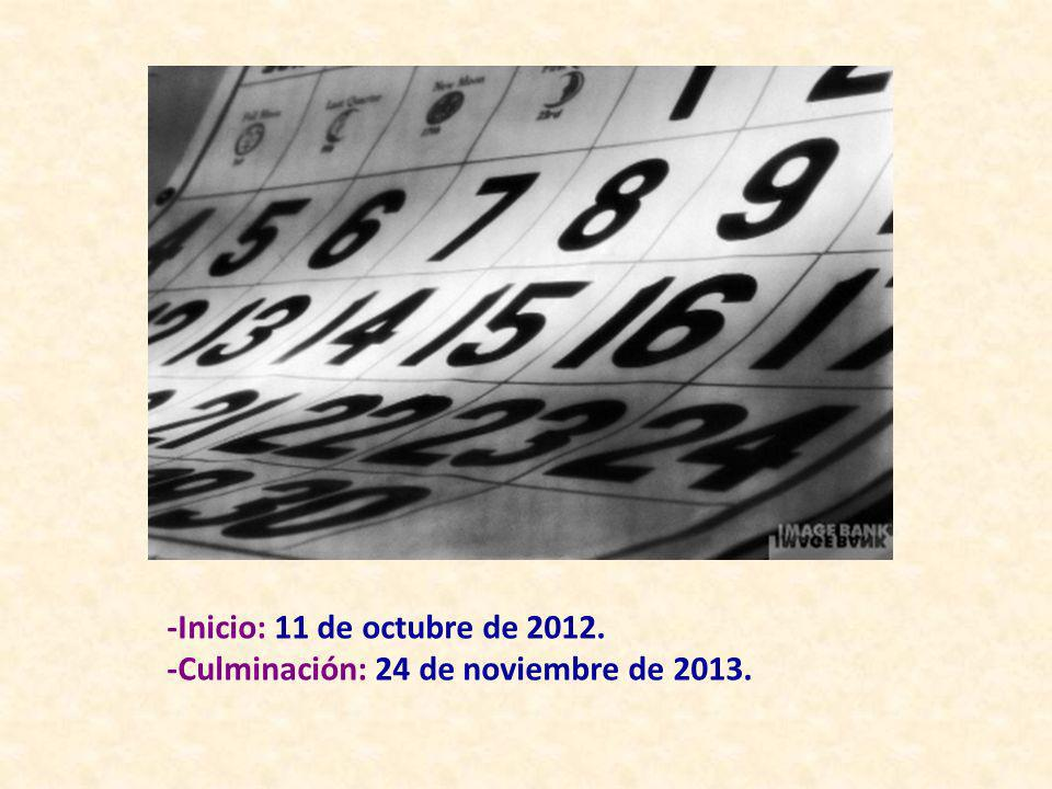 Siguiendo las Orientaciones Pastorales de la Iglesia Católica, La Diócesis de Cádiz y Ceuta ha programado una serie de actividades pastorales con motivo del AÑO DE LA FE.