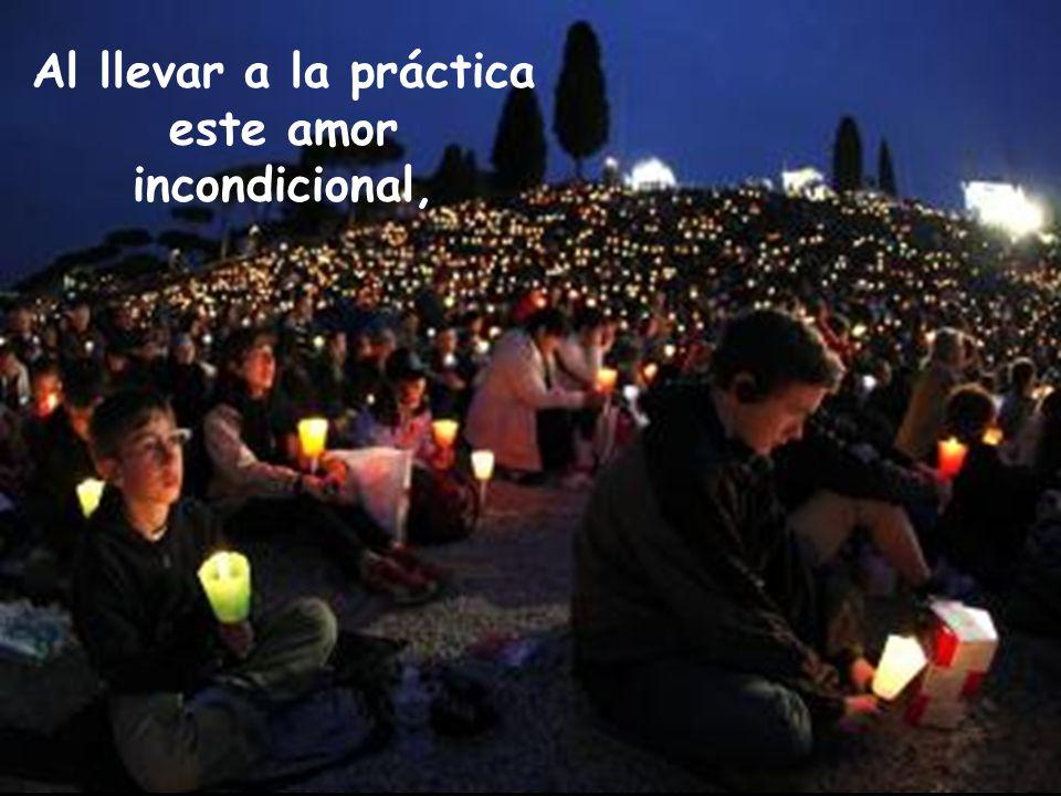 hacen que el amor místico de Dios sea un hecho concreto ante las gentes que les rodean y manifiesta que son seguidores de Jesús.