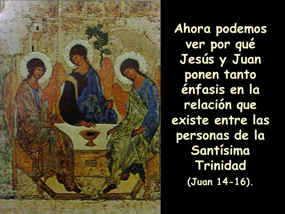 los cristianos corrientes descorren un velo y hacen posible vislumbrar el cielo y el amor que procede de la Santísima Trinidad.
