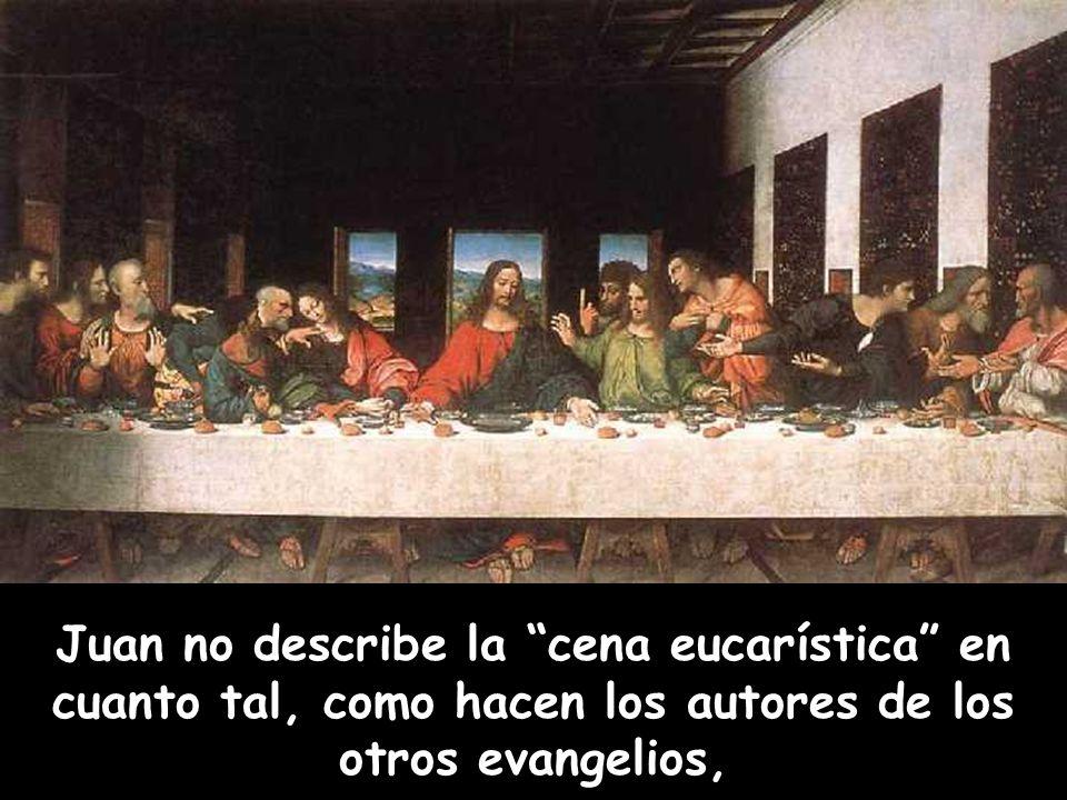 Hoy nos encontramos con Jesús y sus discípulos en la habitación del piso alto durante la Última Cena.