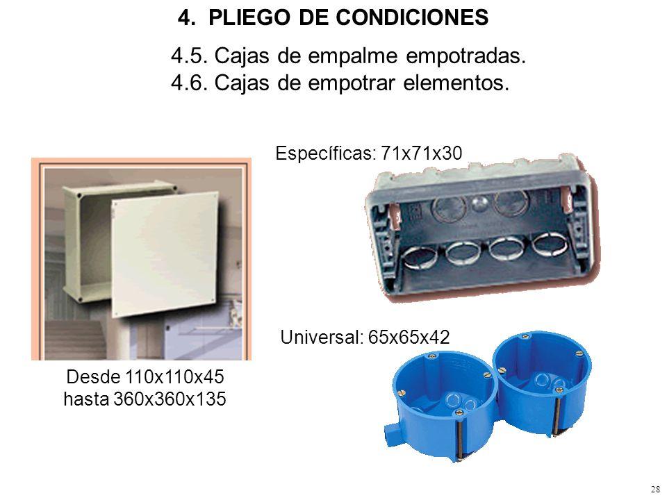 27 4. PLIEGO DE CONDICIONES 4.4. Mando con altavoz incorporado.