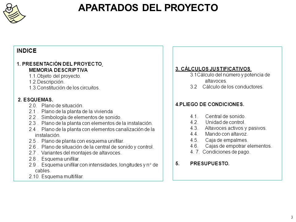 2 PROYECTO DE INSTALACIÓN DE SONIDO INSTAL.LACIONS MARTI S.L. NIF 22538444-S C/Senyera n° 2 46133 Meliana (Valencia) Tel-Fax: 961480909 Móvil 67865670