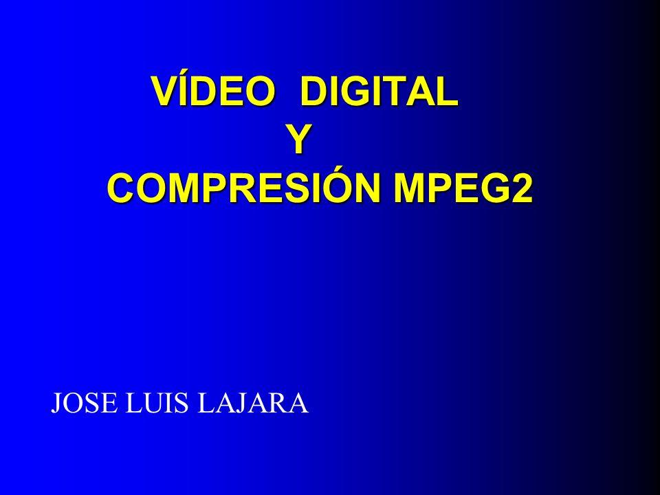 Es el estándar utilizado para la compresión de TV, en todas sus vías de transmisión.