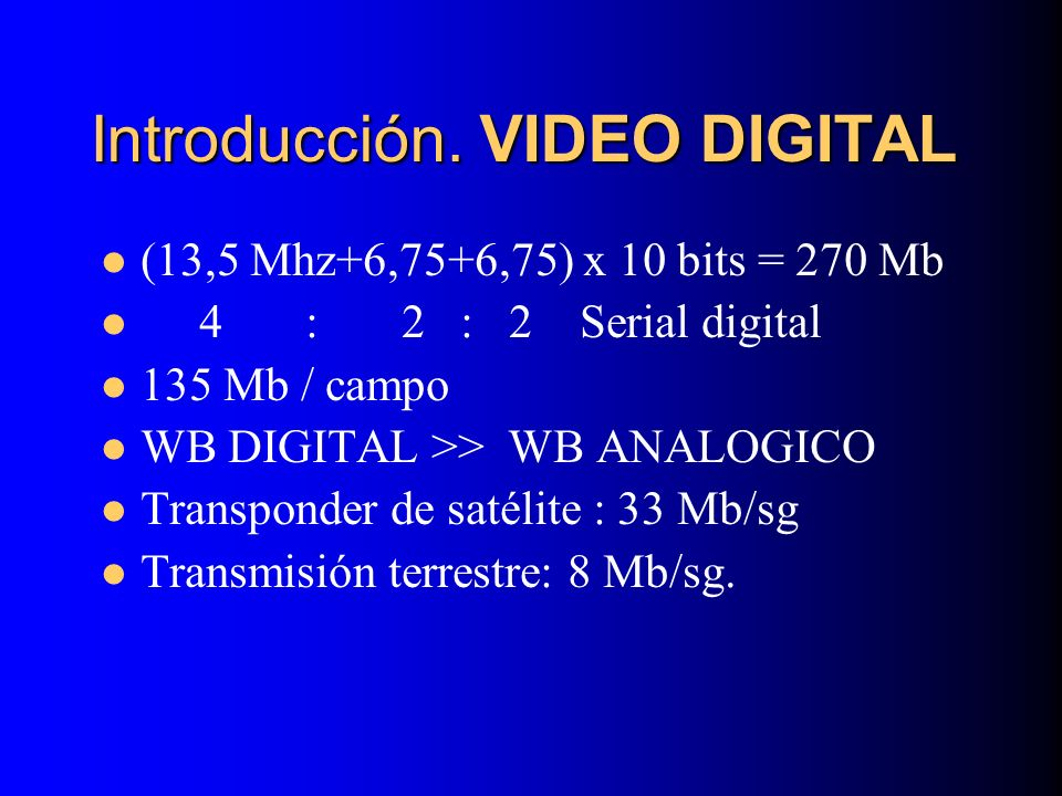 LA COMPRESIÓN MPEG-2 I Frames: Para decodificación intraframe P Frames: Una reconstrucción previa del frame para la predicción temporal.