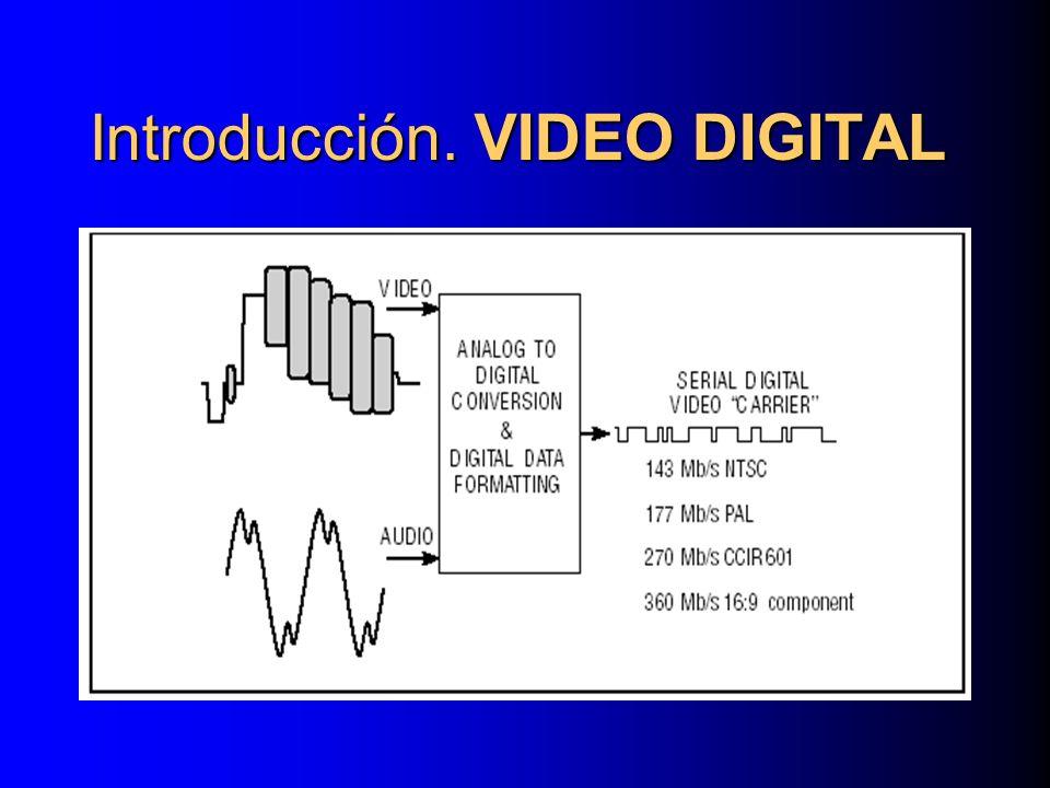 LA COMPRESIÓN MPEG-2 Compresión Interframe B Frames: Usan Interpolación bidireccional de predicción del movimiento para permitir al descodificador reconstruir un fotograma que esta alojado entre dos reconstruidos fotogramas.
