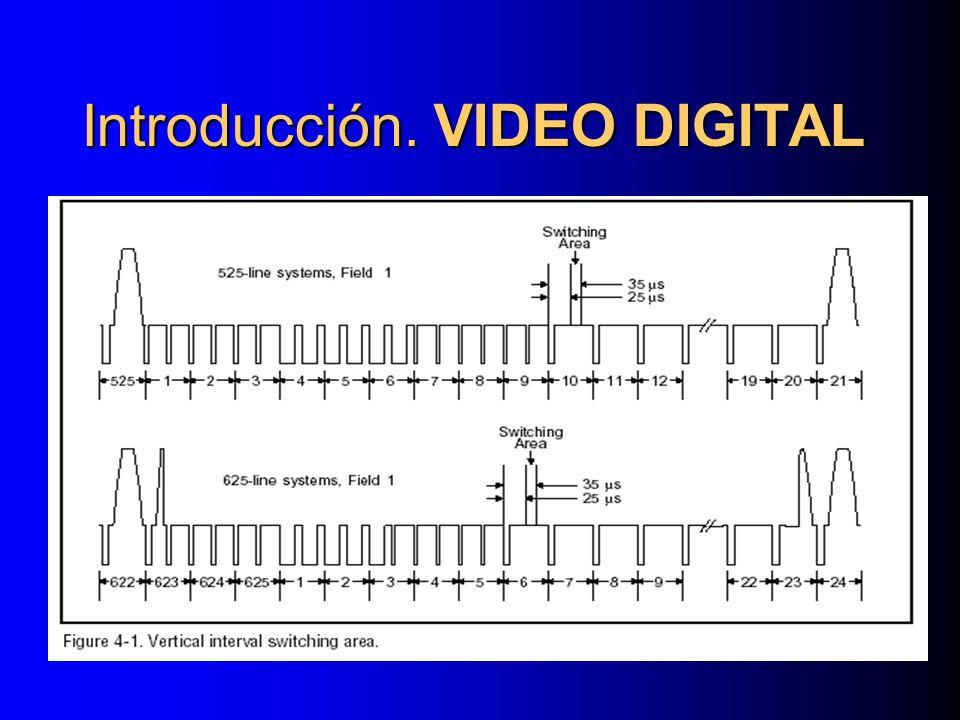 LA COMPRESIÓN MPEG-2 Compresión Interframe IBP GOP TÍPICO IBPBBBP IBBBPBBBP IBPPBBPBBBBPBBBP IBPBBBBPBBBBBPBBBBBBP mínima cadena MPEG completamente decodificable por sí sola