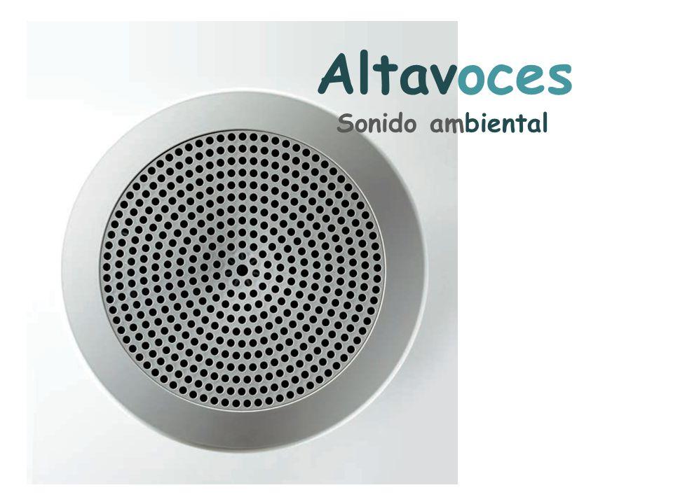 Altavoces Sonido ambiental