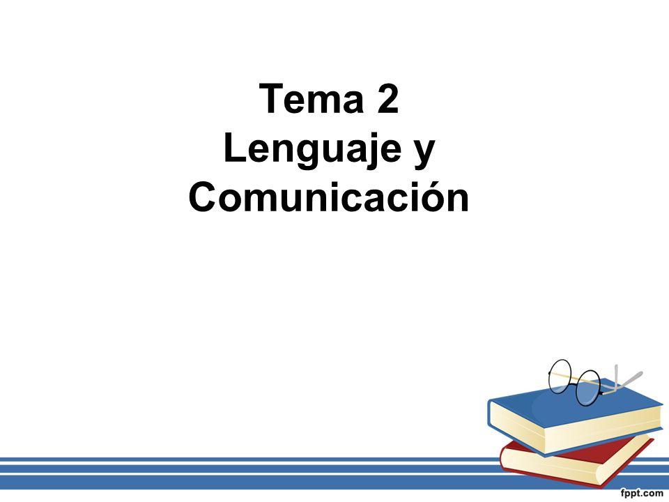 1.Lenguaje, lengua y habla. 2. Concepto de signo –Clasificación de los signos 3.