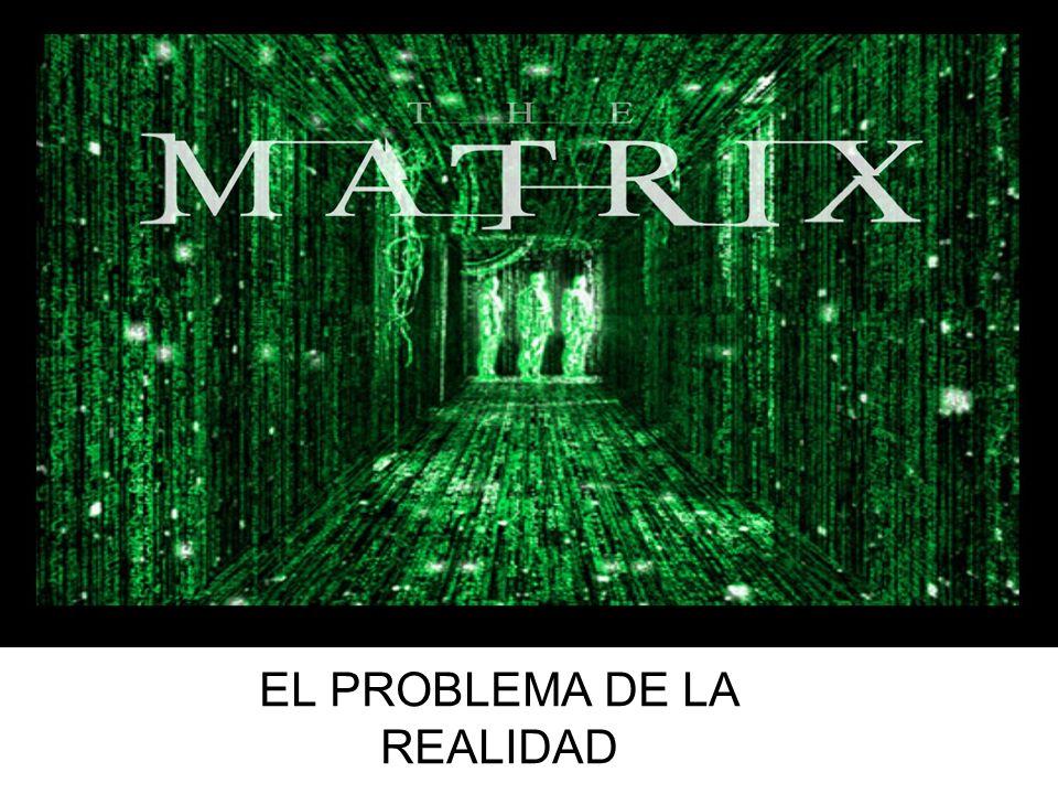 MATRIX Y FILOSOFÍA EL PROBLEMA DE LA REALIDAD
