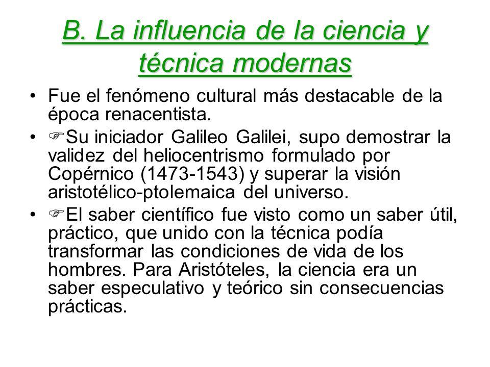 4º Aspecto: Influencias Influencias que recibe: El sujeto moderno había sido creación de los renacentistas.